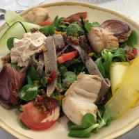 Lunch on Ouessant introduced some of us to a Breton Salad.