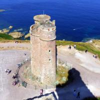 The original 17th century lighthouse at Cap Frehel