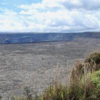 Crater at Volcano National Park on Big Island