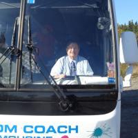 John our coach driver.