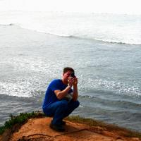 Chad at New Point Loma Lighthouse