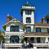 Group Shot at Point Fermin Light Station
