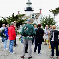 Group at Point Pinos Light Station