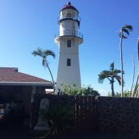 Diamond Head Lighthouse from the gate