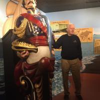 Docent at Quaco Museum
