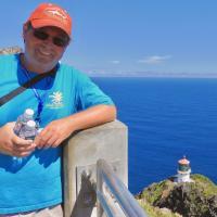 Doug at Makapu'u Lighthouse Observation Area