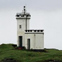 The first lighthouse of the tour was Elie Ness.
