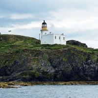 Fidra Lighthouse.