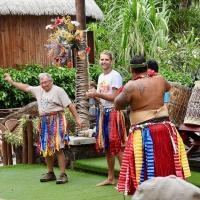 Frank doing his Tahitian Dance