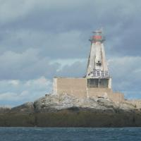 Gannet Rock Lighthouse from the other side