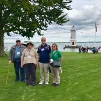 George, Amy, Jerry and Cassandra at Grosse Ile Lighthouse