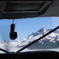 Glacier flying  - Cordova