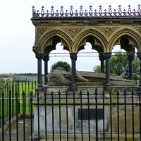 The legend of Grace Darling was relived at her grave and museum.