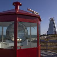 Great Duck Lens and Swallowtail Lighthouse