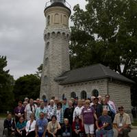 Group Picture at Fort Niagara Lighthouse
