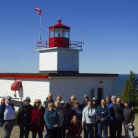Group Shot at Long Eddy Point Lighthouse without Randa