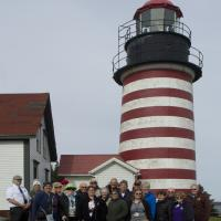 Group Shot at West Quoddy Lighthouse with Randa