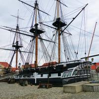 HMS Trincomalee at Hartlepool Maritime Experience.