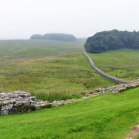 David said - Hadrian's wall isn't like the Great Wall of China - He was right!