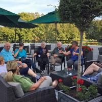 Happy Hour at the Duke of Richmond hotel