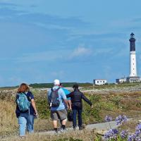 Another ferry ride took us to Ile de Sein for a yet another hike to the lighthouse.