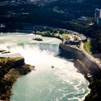 Horseshoe Fall from the Air