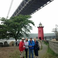 Steve, Teri, Bruce and Mary at Jeffrey's Hook Lighthouse