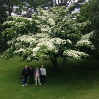 Epic photo of Bill, Peggy, Virginia and Glenda at Stony Point Battlefield State Historic Site