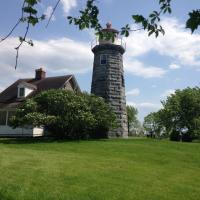 Our next stop, another privatly owned lighthouse - Windmill Point