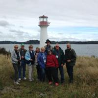 Group at Lighthouse Point