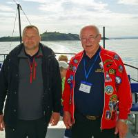 Roy and Ian from ALK were our personable and excellent guides for most of Scotland.