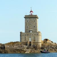Ile Norie (Black Island Lighthouse) Bay of Morlaix