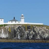 Inner Farne Island Lighthouse.
