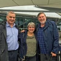 Jeremy Hawes, Head of Operation Europe, and his wife helped Skip & Mary Lee end the tour with a lunch on the Thames.