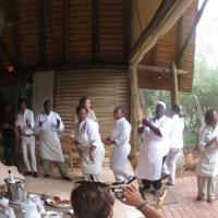 Kapama Safari lodge staff
