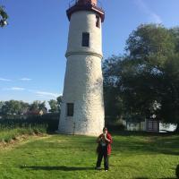 Kathryn at Thames Lighthouse