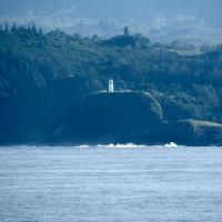 Kilauea Lighthouse from the water