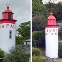 Day 10 began with photos of two discontinued range lights in Aber Wrac'h