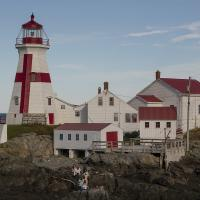 Leaving East Quoddy Lighthouse Station