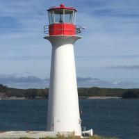 Lighthouse House Point made of Fiberglass