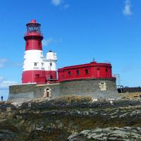 The iconic Longstone Lightouse - home to Grace Darling.