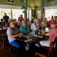 Lunch at the Bistro before Kilauea Lighthouse