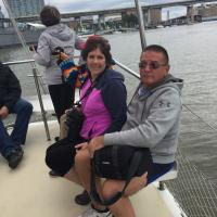 Mike and Kelly on Spirit of Buffalo