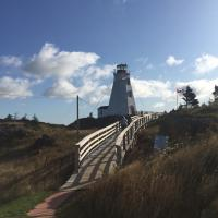 More of the trail to Swallowtail Lighthouse