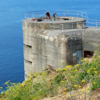 Lots of remains from the German occupation of Jersey remind us of the role the Channel Island played in WWII.