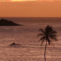 Nawiliwili Lighthouse at Sunset