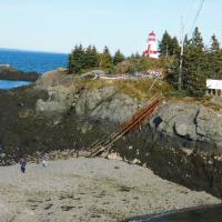 One leg of getting to East Quoddy (Harbor Head) Lighthouse