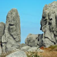 Ouessant has some very interesting rock formations.