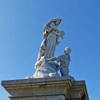 Our Lady of Drowned Souls statue at Point du Raz