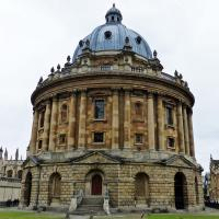 Oxford's Bodleian Library.